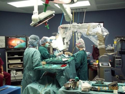Awake-surgery